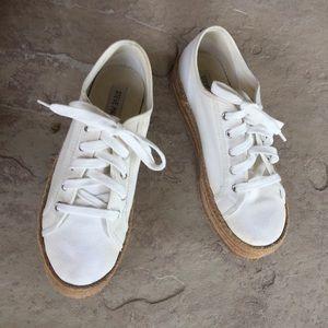 Steve Madden platform Sneakers White 7.5B